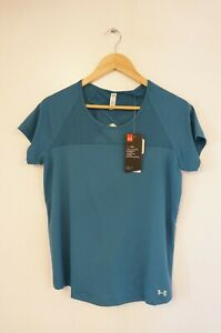 Under Armour Heat Gear Womens Exercise Workout Wear Top (UK Size M) BNWT