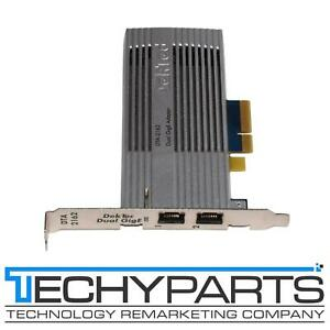 Dektec DTA-2162 TSoIP Advanced Network Card with Dual GigE Ports PCI-Express x4