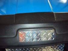 EZGO Name Plate cover for all EZGO Golf Cart Diamond plate