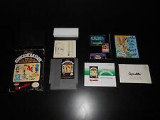 Classic Concentration Complete Nintendo NES Game CIB