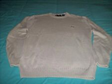 MENS Sz Medium Oatmeal Beige PULLOVER SWEATER By CHAPS RALPH LAUREN Crewneck