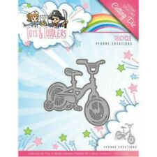Yvonne Creations Toys & Toddlers taglio muore-Triciclo YCD10095