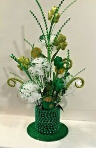 St Patrick's Day Table Centerpiece Arrangement