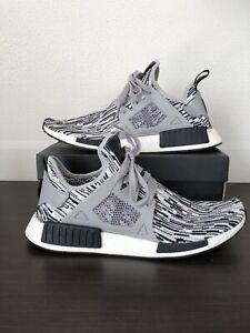 Men's Adidas NMD XR1 Primeknit Oreo Glitch Camo BY1910 Shoes US 11.5 UK 11 EU 46