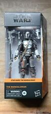 "Hasbro Star Wars The Black Series The Mandalorian (Beskar) 6"" figure (2020)"