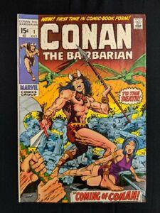 Conan The Barbarian #1, Origin of Conan Marvel (October 1970)