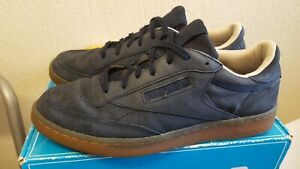 Reebok Classic Navy blue Men's Suede Trainers Size UK 11