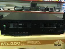 Vintage PROTON AD-200 Stereo Cassette Deck BRAND NEW IN BOX