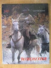 "Vintage 1997 ""Live the Legend"" Winchester Rifles & Shotguns Catalog"