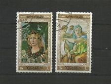 YEMEN  1967 FLORENTINE MASTER PAINTINGS  Cancelled to order CTO MNH