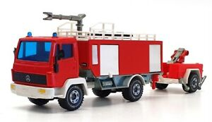 Siku 1/55 Scale 2921 - Mercedes Benz Water Cannon Fire Engine - Red/White