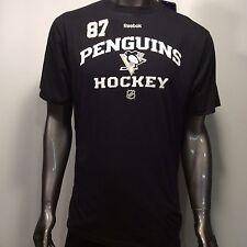 Pittsburgh Penguins Hockey Sidney Crosby #87 Reebok XL Players T-Shirt
