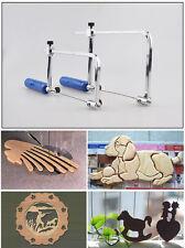 U Shape Metallic Adjustable Hand Saw Frame Wood Jewelers Hand Tools