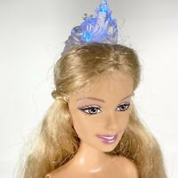 2005 Princess RAPUNZEL'S WEDDING Barbie Doll LIGHT UP Crown Long Hair Nude