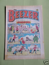 THE BEEZER - UK COMIC - 5 DEC 1981 - # 1351 - VG