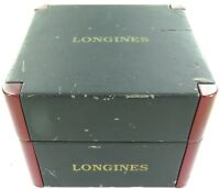 .SCARCE VINTAGE LONGINES MENS WATCH DISPLAY BOX.