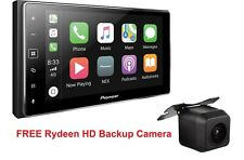 NEW Pioneer MVH-1400NEX Apple CarPlay Multimedia Receiver + Free Backup Camera