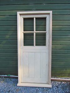 Front/Back  Door and Frame Pre- Hung with multipoint locking made to measure
