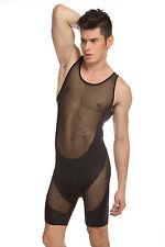 Body débardeur noir taille L transparence sheer plum sexy Ref 320 combinaison
