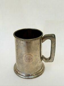 Vintage Pewter Tankard Winner Mug/Stine 1960's Patina, Weathered