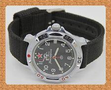 Vostok russian military mechanical (Hand-winding) watch # 811306 new nylon strap