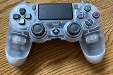 Sony Dualshock 4 Wireless Controller for PS4 - Clear Crystal  - Genuine - V2