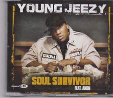 Young Jeezy-Soul Survivor promo  cd maxi single