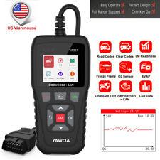 OBD2 Code Reader Engine Auto Diagnostic Live Data Scanner Battery Test Tool US