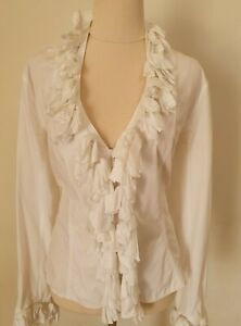 Anne fontaine Beautiful top by French Designer sz10