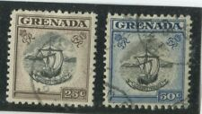 Grenada Stamps Scott #160,161 (2) Used,VF  (X7751N)