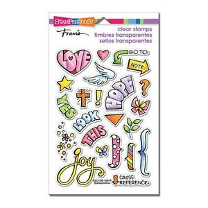 Stampendous BIBLE JOURNAL Perfectly Clear Stamps Christian Faith