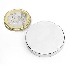 Super Magnete Disco in Neodimio dimens. 35 x 5 mm Potenza 12 Kg. Magnetoterapia