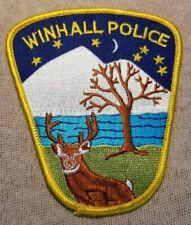 VT Winhall Vermont Police Patch