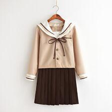 Japonais Haut École Uniforme Costume JK Cosplay Costume Jeux Manches Longues