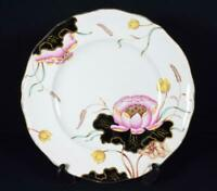 Art Deco Masons Ironstone Pottery China Dinner Dinner Plate Waterlily Pattern