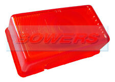 RUBBOLITE 7534 RED REAR TOP MARKER LAMP LIGHT LENS IFOR WILLIAMS TRAILER PO67872
