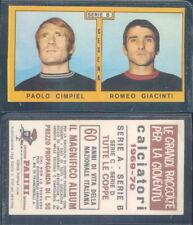 Calciatori 1969-70 Cimpiel-giacinti Figurina Panini