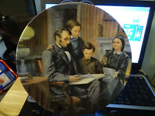 "1988 Knowles China Plate ""The Family Man"" w/ Coa - #10"
