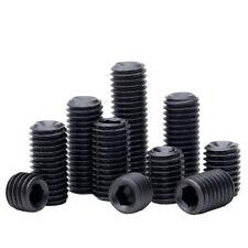 Cup Point Grub Screws M1.6 to M24 Hex Socket Set Screws Grade 12.9 High Tensile
