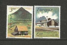 EUROPA CEPT 1990 Foroyar îles de Féroé 2 timbres neufs MNH /TR1681