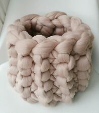 Baby Pod Blush Pink Wool Basket Newborn Baby Posing Photography Prop