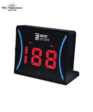 Blue Sports Hockey Radar Gun! MPH KMH Hockey Shot Speed Clock Training Aid
