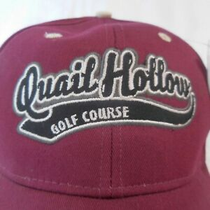 Quail Hollow Golf Course Ball Cap McComb MS NWT Ahead