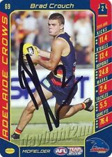 ✺Signed✺ 2016 ADELAIDE CROWS AFL Card BRAD CROUCH