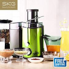 SKG Juicer Extractor Machine Fruits Vegetables Juicer High Yield USA Free Post
