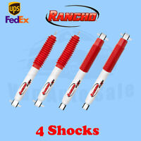 """Rancho Kit 4 4-5"""" Lift Front & Rear RS5000X shocks for 97-06 Jeep Wrangler 2WD"""