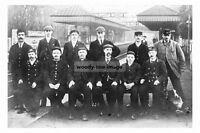 pt3889 - St Annes on Sea Railway Station & Staff , Lancashire - photo 6x4