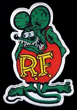 Rat Fink Patch Hot Rod Drag Race Automotive Ed Big Daddy Roth Motorcycle