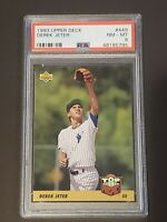 1993 Upper Deck #449 PSA 8 Derek Jeter Rookie RC New York Yankees