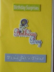 Birthday boy cards